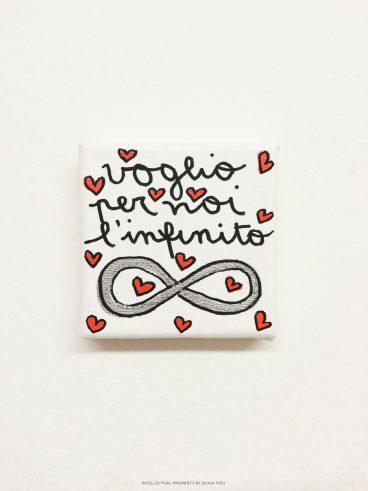 Voglio per voi l'infinito