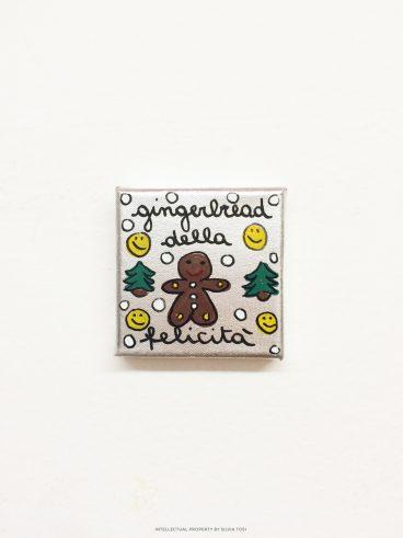 Gingerbread della felicità (argento)