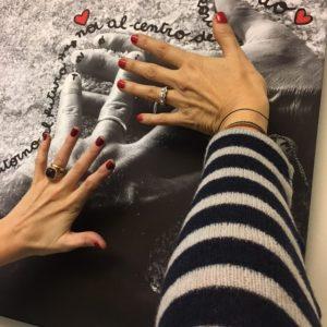 le mani sono quella di Ilaria Corticali e la mia